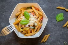 one pot pasta,  #healthy #quick #easy #lunch #dinner #recipe #onepot #pasta www.amigaprincess.com