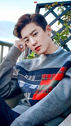 Chanyeol - EXO Photoshoot for W Korea Magazine Kpop Exo, Baekhyun Chanyeol, Exo Minseok, Exo Ot9, Sehun Oh, Luhan And Kris, Kim Jongin, Kaisoo, Lay Exo