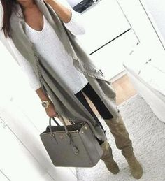 Easy grey outfit ...