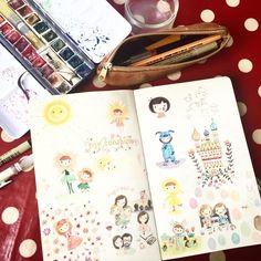 "See this Instagram photo by @christellelardenois  Christelle Lardenois French illustrator and textile designer (coll. ""Ninon & Nioui"" by Trousselier, ""Little red riding hood"" and ""Super Hero"" by Linna Morata), mum of 3... christellelardenois.ultra-book.com"