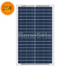 QXPV 25W Polycrystalline Solar Panels,China - ReneSola - Green Energy Products