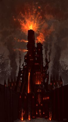 ::smoke and fire and magic:: Jonathan Kirtz - Warhammer Online - Altdorf Bright Wizard College Exterior.png