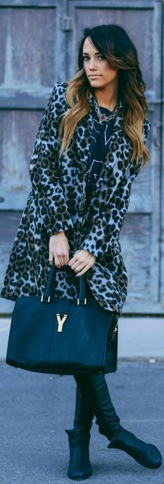 A Lil #Leopard by Styled Avenue => Click to see what she wears