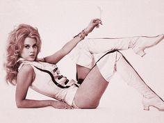 "Jane Fonda  ""Decrucify the Angle!"""