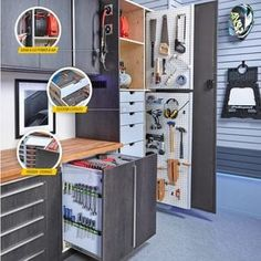 How to Build an Outdoor Storage Bench (DIY) | Family Handyman Car Storage, Garage Storage, Tool Storage, Storage Boxes, Locker Storage, Diy Garage, Garage Organization, Kaizen Foam, Ikea Kallax Hack