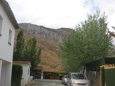 Calle del camping.