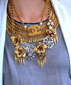 15 Ways to Layer Your Necklaces (When Wearing One Piece Just Won't Cut It!)