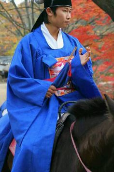 Groom from the mock wedding at the Korean  Folk Village