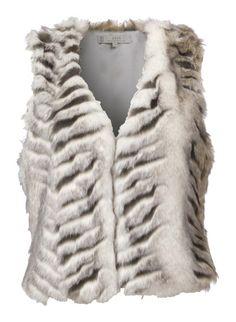 YaYa Faux Fur Gilet Faux Fur Gilet, Confident Woman, Half Price, Fall Winter, Autumn, Yaya, Perfect Fit, Fur Coat, Feminine