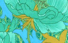 Pattern Number: PJ28 Selected Color: Green   Product Description: Artist: Philip Jacobs  Category: Florals  100% cotton