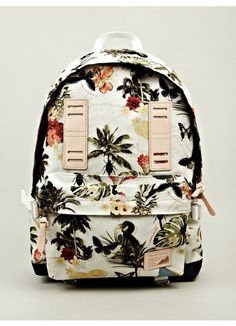 x Nowartt Collaboration Series Backpack #MasterPiece