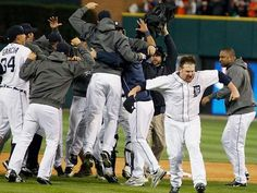 The Detroit Tigers beat the New York Yankees, 8-1, to complete a four-game American League Championship Series sweep and advance to their 11th World Series in franchise history. (via Detroit Free Press)