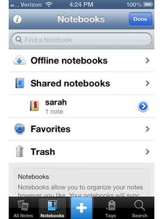 Top 6 Organizational Apps