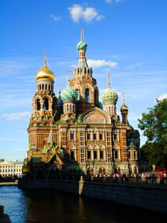 Church of the Savior on Blood #St.Petersburg #Russia #Photography