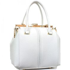 Designer Inspired Frame Fashion Satchel – Handbag-Addict.com