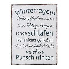 Schild WINTERREGELN shabby chic Holzschild Weihnachten Türschild Anhänger in Möbel & Wohnen, Feste & Besondere Anlässe, Jahreszeitliche Dekoration   eBay!