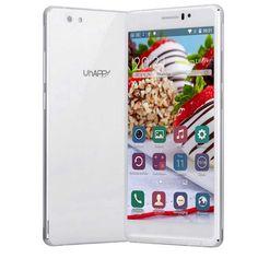 UHAPPY UP580 Quad Core Android 5.1 3G Phone 1GB RAM,8GB ROM White $82.03…