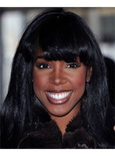 Wigs For Sale Medium Black Synthetic Hair Wigs for Black Women