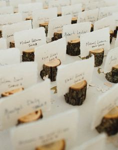 From the ceremony aisle to the escort cards