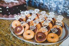 San Diego Engagement Party | Donut engagement rings | Krispy Kreme Donuts | Bridal Shower inspiration | Wedding Photographer in San Diego | Studio Freyja Professional Wedding Photographer in San Diego