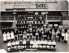 Tottenham Hotspur playersand staff 1960/61 | Tottenham Hotspur Football Club
