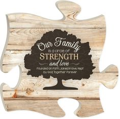 Our Family Puzzle Piece - PuzzleMatters