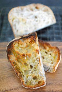 Garlic and Lemon Thyme Ciabattas for Twelve Loaves / Ciabatte all'aglio e al timo limonato per Twelve Loaves
