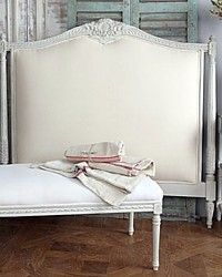 i'd love this headboard and bench seat