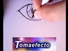 Como dibujar OJOS ANIME reales paso a paso. Aprende a dibujar a lapiz OJ...