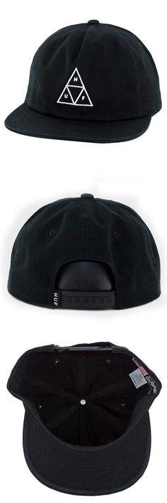 6c110c35 Hats 52365: Huf Worldwide Wash Triple Triangle Snapback Hat (Black) Men S  Unstructured Cap -> BUY IT NOW ONLY: $33.99 on eBay!