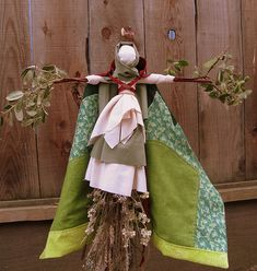 St. Brigid Doll inspiration! I would use this a starting point to create a doll that means something to you. Lovely image!
