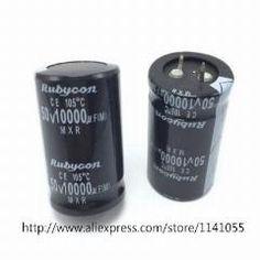 [ 18% OFF ] 10Pcs/lot 10000Uf50V 10000Uf 50V 50V 10000Uf Electrolytic Capacitor 30*50 30*45