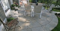 Concrete Finishes for Patios | ... finishes available for concrete patios concrete patio surfaces company