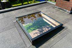 Moderne glazen #lichtkoepel voor overkapping of #veranda Ramen, Electronics, Modern, Kitchen, Home Decor, Skylight, Couple Bedroom, Houses, Trendy Tree