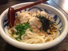 Udon #Japan #Food #Noodle