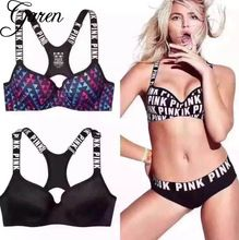 Back To Search Resultsunderwear & Sleepwears Bra & Brief Sets Sexy Lounge Bra Set Women Printed Letter Wire Free Brief Sets Feme Fitness Suits Black And White Underwear Set Suits A Complete Range Of Specifications