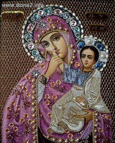 Gallery.ru / Фото #13 - иконы бисером (найдено в нЕТЕ) - irishkru