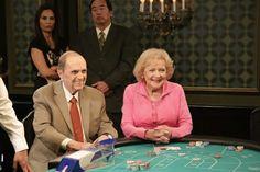 Bob Newhart and Betty White on big bacc