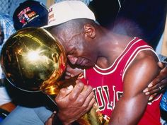 In his seventh season in the NBA, Michael Jordan wins his first NBA title with the Chicago Bulls. Jordan, who average 31.2 points during the four game series, was named the NBA Finals MVP.