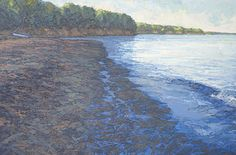 Morning on Big Beach 24 x 36 inches, oil on linenOn Nature's Terms: Paintings of Thomas Paquettte