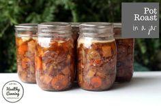Beef pot roast in a jar - Healthy Canning