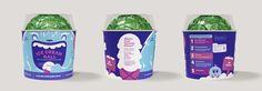 YayLabs! Ice Cream Ball by YIU Studio , via Behance