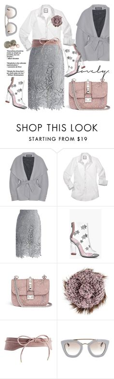 """""""winter pastels"""" by pensivepeacock ❤ liked on Polyvore featuring Balmain, Chicwish, Boohoo, Valentino, Chanel, ASOS, Prada and Christian Dior"""