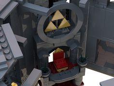 The Legend of Zelda BotW: Hyrule Castle Lego Super Mario, The Legend Of Zelda, Breath Of The Wild, Lego Sets, Calamity Ganon, Zelda Video Games, Nintendo, Twilight Princess, Princess Zelda
