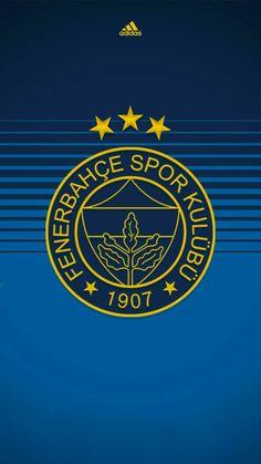 Fenerbahçe – My Pin Page Fb Wallpaper, Grafik Design, Unique Recipes, Cool Walls, Team Logo, App, My Love, Football Soccer, Wallpapers