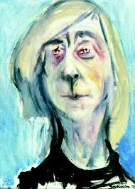 Self Portrait by Tove Jansson on Curiator, the world's biggest collaborative art collection. Tove Jansson, Digital Museum, Writers And Poets, Collaborative Art, Female Art, Art Drawings, Fine Art, Portraits, Artwork
