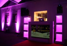 Creëer een fantastische atmosfeer met LED verlichting.