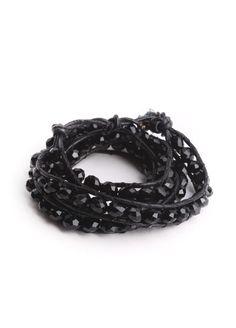 Blackout Sparkle Wrap Bracelet $16.00
