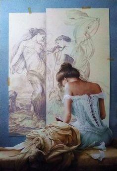 Chelin Sanjuan 1967 ~ Réalisme magique peintre | Tutt'Art @ | Pittura * * Scultura Poesia * Musica |