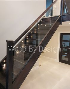 Oak staircase now in textured black to match interior doors Interior Doors, Dark Side, Black, Indoor Gates, Black People, Internal Doors